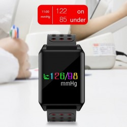 Bratara smart fitness Bluetooth, 9 functii, Android iOS, TFT 1.3 inch, IP67, SoVogue