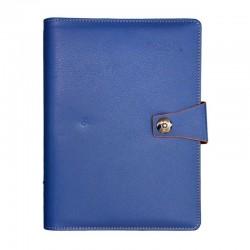 Agenda Organizer A5, 100 pagini, inchidere cu buton, coperta buretata, Nebo