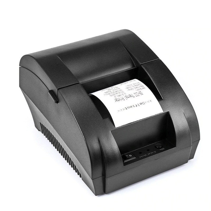 Imprimanta termica POS, 203 DPI, latime 58 mm, conectare USB