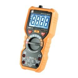 "Multimetru digital 10 functii, ecran LCD, sonda tip ,,K"", alimentare baterie"