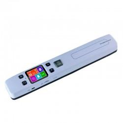Scanner A4 color portabil, Micro SD, 32 G, rezolutie 300/600/1050 DPI, USB