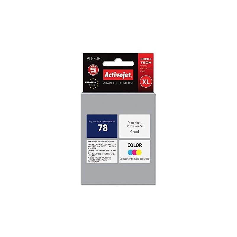 Cartus compatibil HP 78 Color, capacitate XL 45 ml, Premium ActiveJet