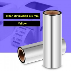 Ribon UV invizibil yellow pentru imprimante termice