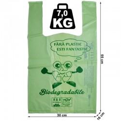 Pungi maieu biodegradabile, 30X55X16 cm, 7 kg, set 10 bucati