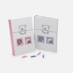 Album Baby's Time,  personalizabil, 300 poze 10x15 cm, slip-in, memo