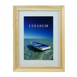 Rama foto Ocean, de birou, lemn, 13x18 cm, aspect vintage