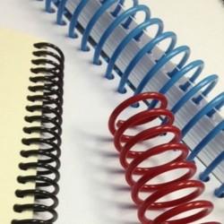 Spirala continua din plastic, format A4, pas 3:1, set 100 bucati