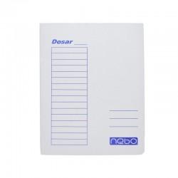 Dosar tip plic pentru indosariere, carton alb, format A4, set 50 bucati