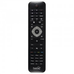 Telecomanda compatibila televizoare smart Philips, neagra, Home