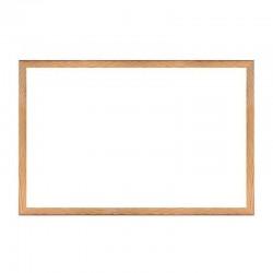 Tabla magnetica 90x60 cm, whiteboard pentru prezentari, rama din lemn