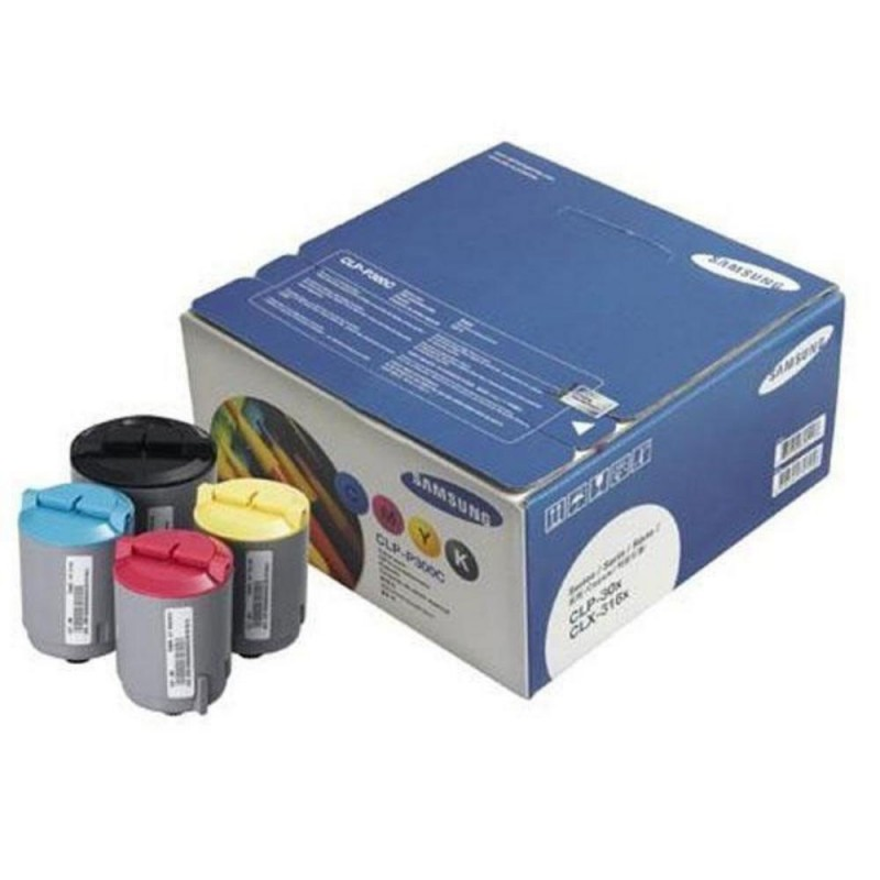 Toner kit cyan magenta yellow black CLP-P300C original