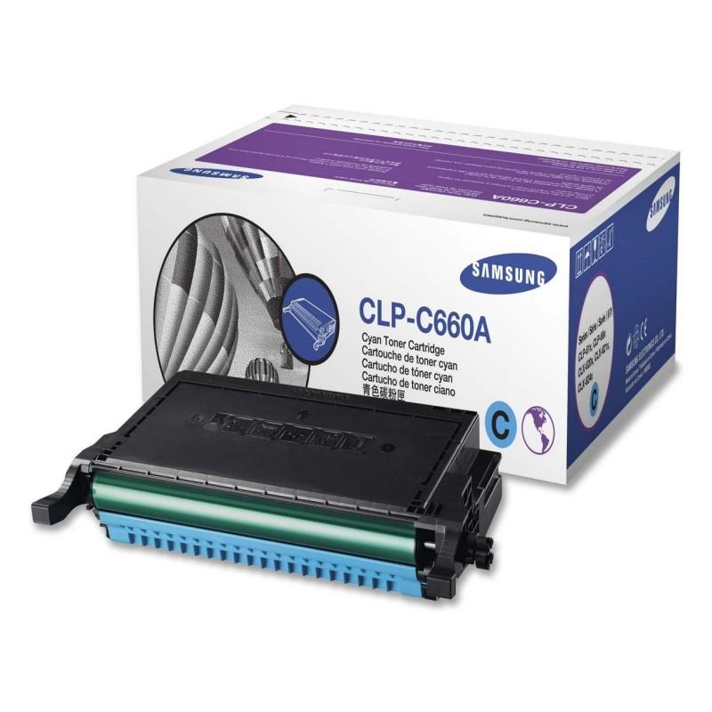 Toner CLP-C660A cyan original Samsung CLPC660A