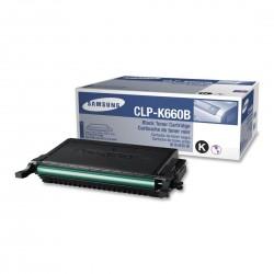 Toner CLP-K660B black original Samsung CLP-K660B