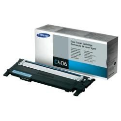 Toner CLT-C406S cyan original Samsung CLTC406S