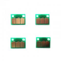 Set 4 chip-uri de resetare Konica Minolta Bizhub C224 C284 C364 C454  C554 DR512 DR313