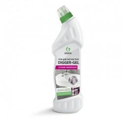 Detergent pentru desfundat tevi Digger Gel, 750 ml, Glass