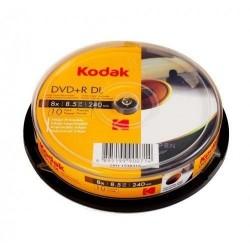 DVD+R dual layer, 8.5 GB, inkjet printabil Glossi, full, Kodak