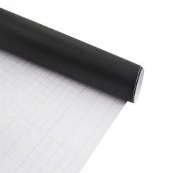Tabla de scris tip sticker pentru perete, 45x200 cm, negru
