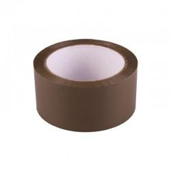 Banda adeziva solvent, latime 47 mm, set 6 bucati, maro