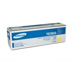Toner CLX-Y8380A yellow original Samsung CLXY8380A
