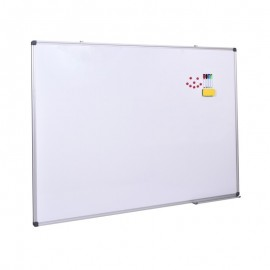 Tabla magnetica 90x120 cm, cadru aluminiu, accesorii, prezentari, alb
