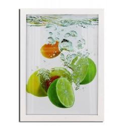 Rama foto Lemon, format A3, 30x40 cm, lemn, fixare perete