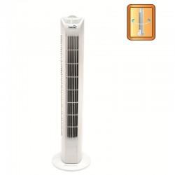 Ventilator tip stalp, 45W, 3 trepte de viteza, 80 cm, alb, Home