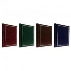 Album poze Clasic, 20 file autoadezive, 23x28cm, piele ecologica, insertii aurii