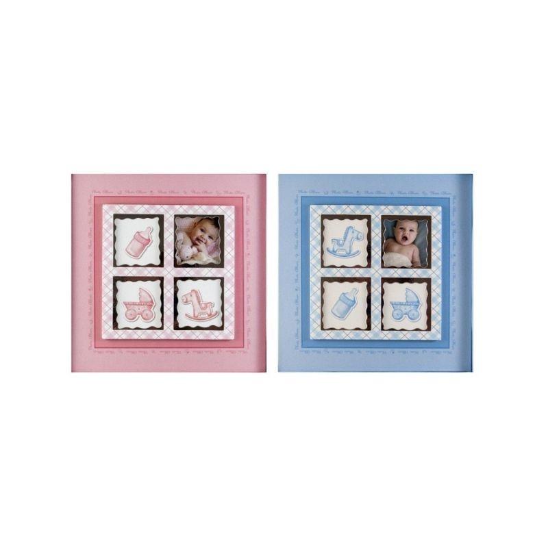 Album personalizabil Baby Stories, 200 foto 10x15 cm, slip-in, notes