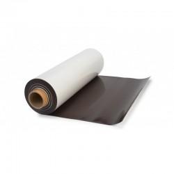 Folie magnetica cu o fata alba imprimabila, grosime 0.3 mm, latime 120 cm