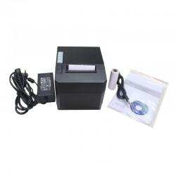 Imprimanta termica portabila POS, 80 mm, viteza imprimare 300 mm/s, USB, auto-cutter