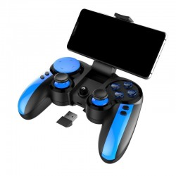 Gamepad wireless, Android, iOS, Windows, TURBO, suport telefon maxim 8 cm, iPega