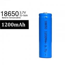 Acumulator reincarcabil lanterna Li-Ion 18650 1200mAh, 3.7V