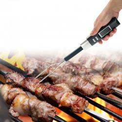 Termometru digital cu sonda pentru carne, afisaj LCD, 2 functii