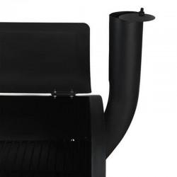 Gratar BBQ si Smokern, termometru, 2 compartimente, 113x103 cm