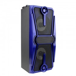 Boxa portabila bluetooth,radio FM, port USB, SD, microfon, telecomanda, Resigilata