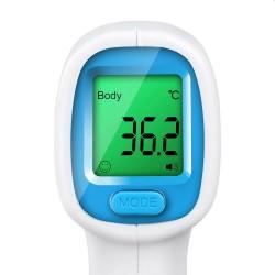 Termometru non-contact cu infrarosu, LCD, corp si obiecte, memorie 50 masuratori
