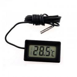 Termometru electronic afisaj LCD, sonda pe cablu, picioruse fixare