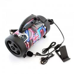 Boxa Bluetooth portabila 5W, microfon, slot USB TF, radio FM, copii