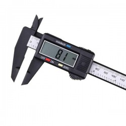 Subler electronic din plastic, display digital, mm/inch, buton calibrare