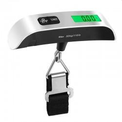 Cantar digital pentru bagaje, maxim 50 kg, termometru, functie TARA