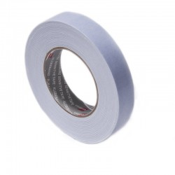 Banda dublu adeziva buretata, alba, 2 mm, pentru interior sau exterior