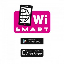 Radiator Smart, Wireless, ecran tactil, 2 trepte incalzire, iOS, Android, termostat