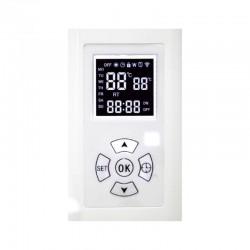 Radiator cu ulei 600W, termostat, temporizator, senzor supraincalzire, Home