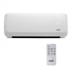 Aeroterma de perete cu ventilator, 2000W, termostat, senzor supraincalzire