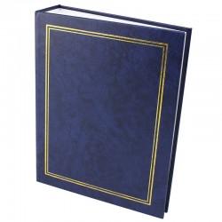 Album foto Clasic, 200 poze format 10x15, tip carte, contur auriu