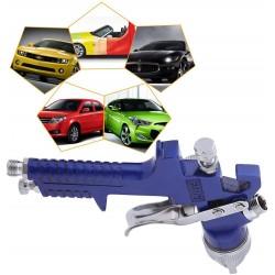Set pistol de vopsit, accesorii compresor si aer comprimat, 7 piese, recipient 600 ml