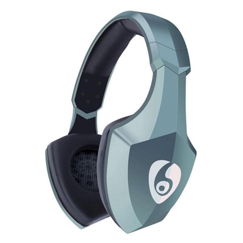Casti on-ear cu microfon incorporat, Bluetooth 4.1, card SD, Resigilate