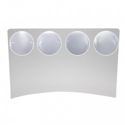 Protectie pardoseala 0.5 mm, PVC, dimensiuni 120x90 cm
