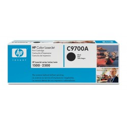 Toner C9700A black original HP C 9700A